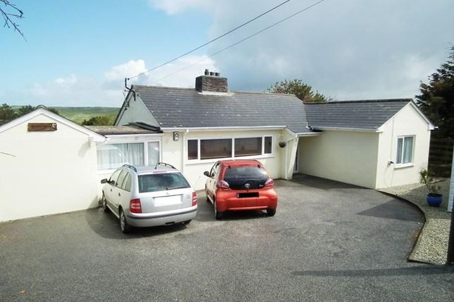 Thumbnail Detached bungalow for sale in Welway, Perranporth
