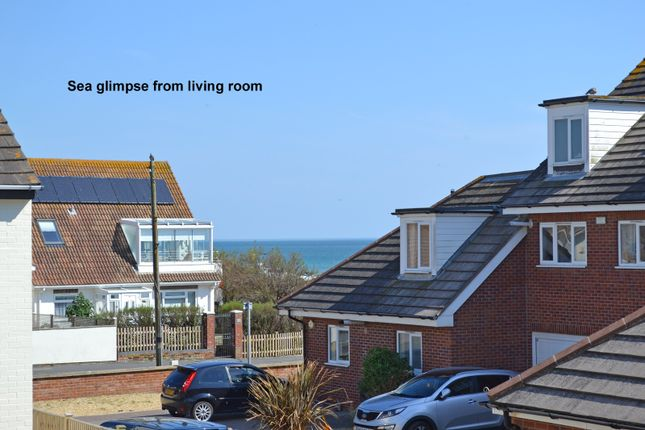 Sea Glimpse of Seaview Court, Clayton Road, Selsey PO20