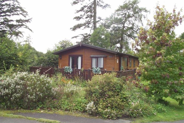Thumbnail Mobile/park home for sale in The Orchard, Plas Dolguog, Machynlleth, Powys