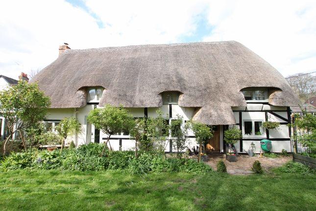 Thumbnail Cottage for sale in Heathman Street, Nether Wallop, Stockbridge