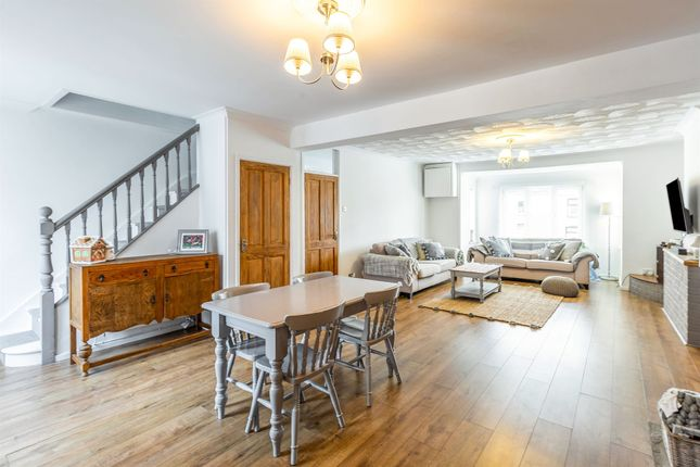 Thumbnail 3 bed terraced house for sale in High Street, Heol-Y-Cyw, Bridgend