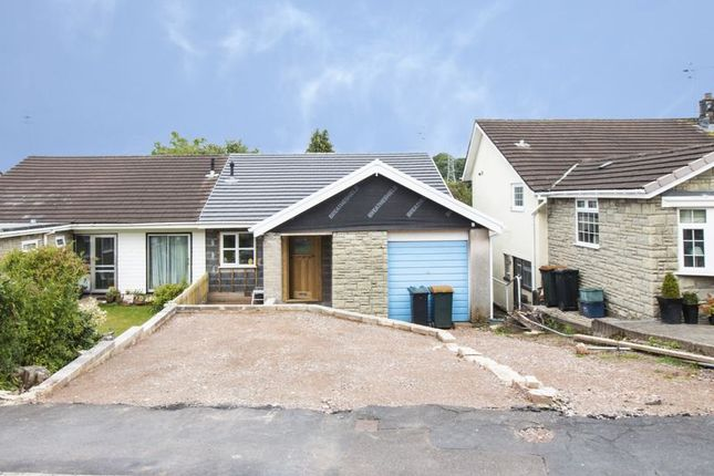 Thumbnail Semi-detached house for sale in Uskvale Drive, Caerleon, Newport