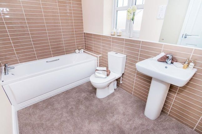 Bathroom of Stanton Road, Sapcote, Leicester LE9