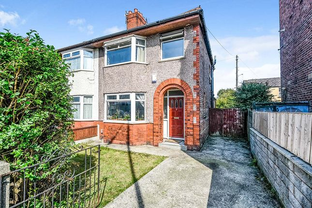 Thumbnail Semi-detached house for sale in Green Lane, Stoneycroft, Liverpool