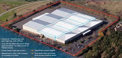 Thumbnail Light industrial for sale in Zortech Avenue, Stourport Road, Kidderminster