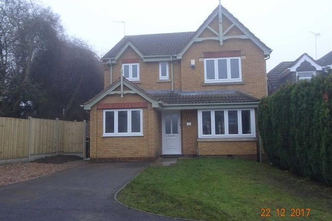 Thumbnail Detached house for sale in Laurel Drive, Hartshill, Nuneaton
