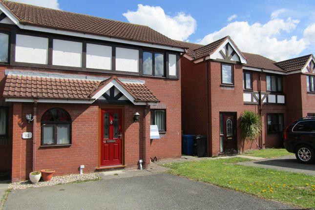 Thumbnail Semi-detached house for sale in Rhyl Road, Denbigh, Denbighshire