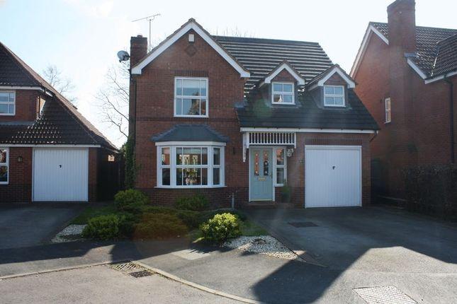 Thumbnail Detached house for sale in Bedingstone Drive, Penkridge, Stafford