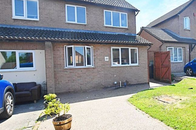 Thumbnail Semi-detached house for sale in Coltman Close, Gloucester
