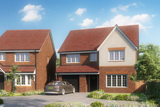 Thumbnail Detached house for sale in Shearing Close, Dudley
