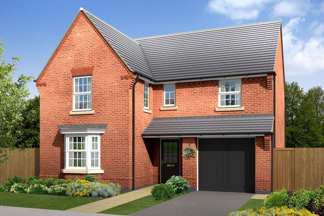 "Thumbnail Detached house for sale in ""Exeter"" at Callow Hill Way, Littleover, Derby"