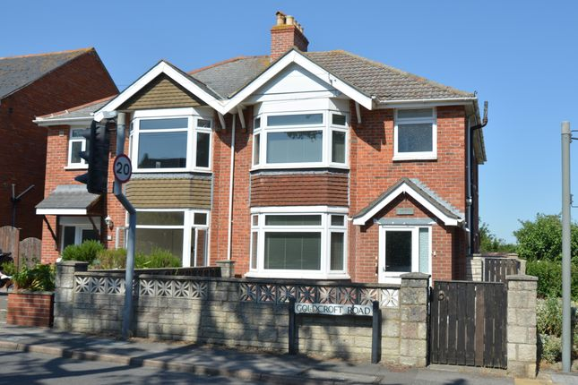 Thumbnail End terrace house for sale in Goldcroft Road, Weymouth