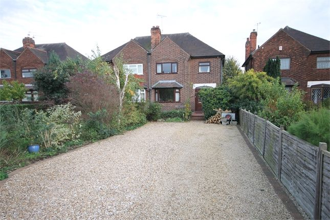 Thumbnail Semi-detached house for sale in Lincoln Road, Newark, Nottinghamshire.