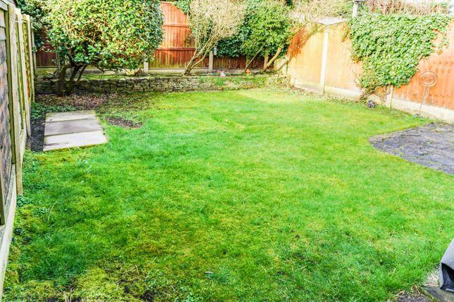 Rear Garden of Windsor Drive, Grappenhall, Warrington WA4
