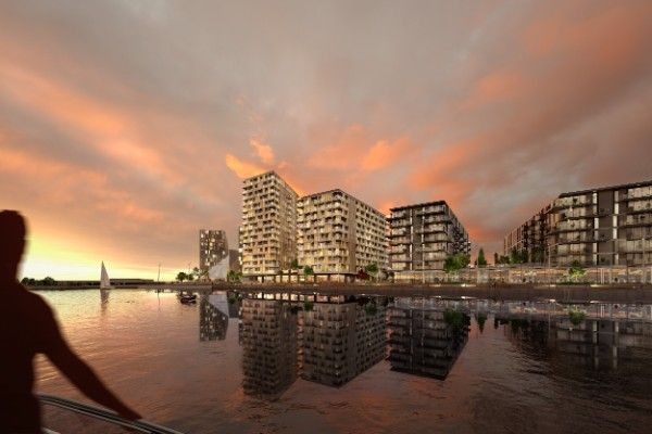 Thumbnail Flat for sale in X1 Chatham Waters Apartments, Pier Road, Medway
