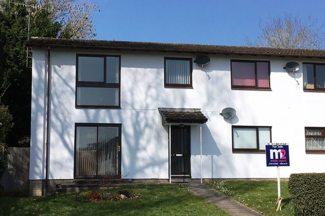Thumbnail Flat for sale in The Meadows, Usk