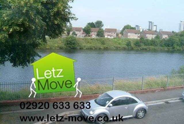Thumbnail Terraced house to rent in Clarence Embankment, Butetown, Cardiff