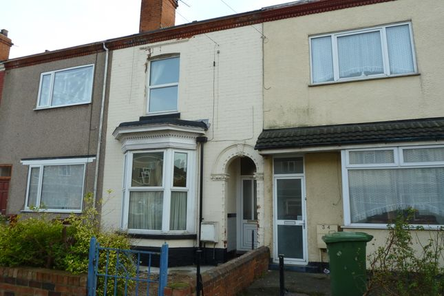 Thumbnail Terraced house to rent in Tasburgh Street, Grimsby