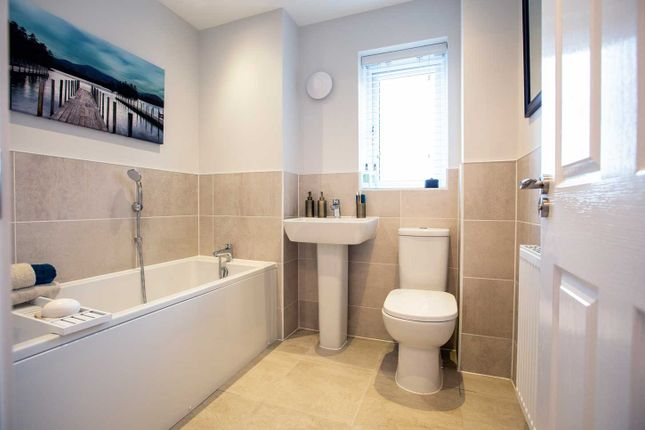 """Typical Bathroom of """"The Eveleigh"""" at Walkmill Lane, Cannock WS11"""