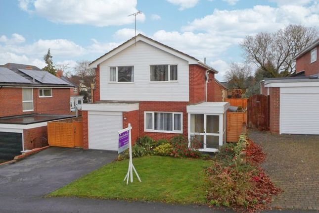 Thumbnail Detached house for sale in Windmill Drive, Audlem, Cheshire