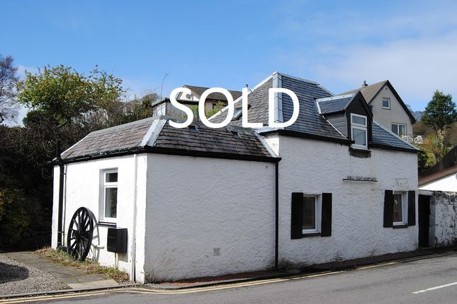 Thumbnail Detached house for sale in Dalriach Road, Oban
