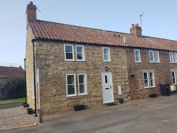 Thumbnail End terrace house for sale in Smithy Cottages, Dishforth, Thirsk, North Yorkshire