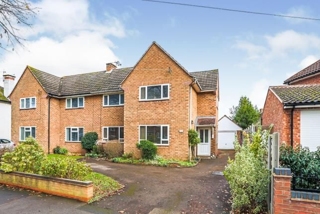 Thumbnail Semi-detached house for sale in Lime Avenue, Leamington Spa, Warwickshire, England