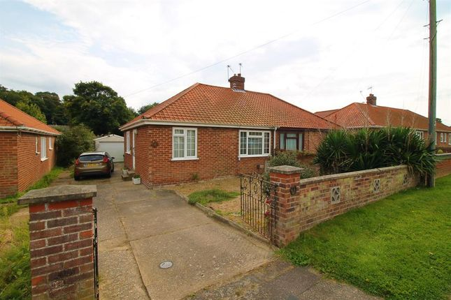 Thumbnail Semi-detached bungalow for sale in Oval Road, Norwich