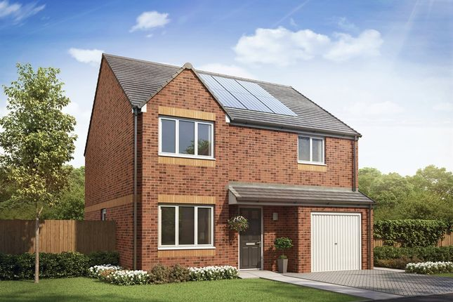 "Thumbnail Detached house for sale in ""The Balerno  "" at Kirk Lane, Livingston Village, Livingston"