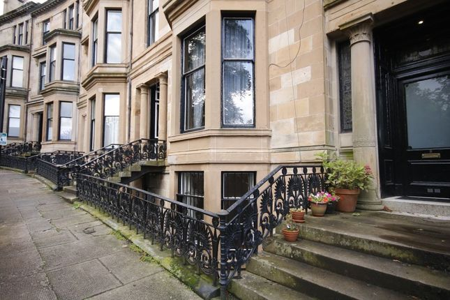 Thumbnail Flat for sale in Basement, 9 Athole Gardens, Hillhead, Glasgow