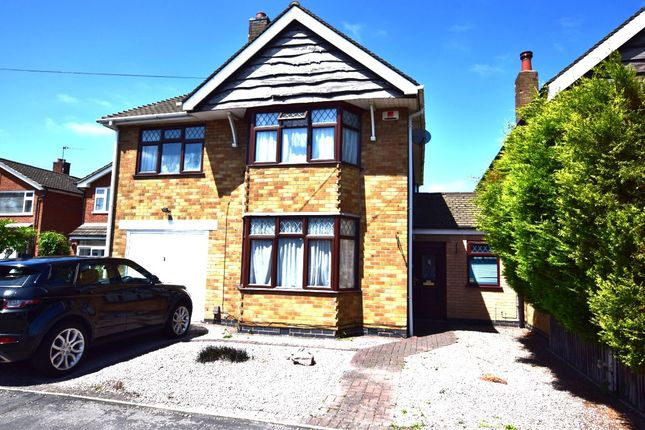 Thumbnail Detached house for sale in Harrowgate Drive, Birstall, Leicester