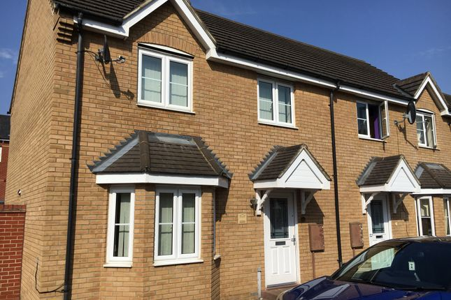 Thumbnail Terraced house to rent in Jack English Close, St. Crispin, Northampton