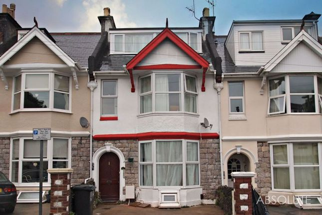 Thumbnail Terraced house to rent in Morgan Avenue, Torquay