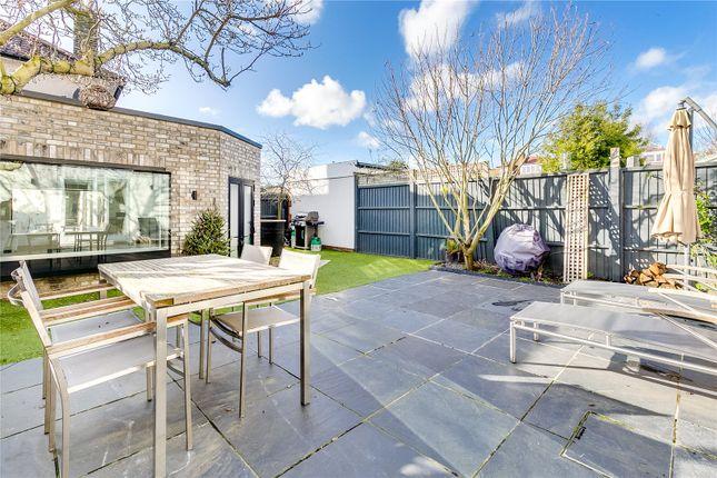 Garden of Kilmington Road, Barnes, London SW13