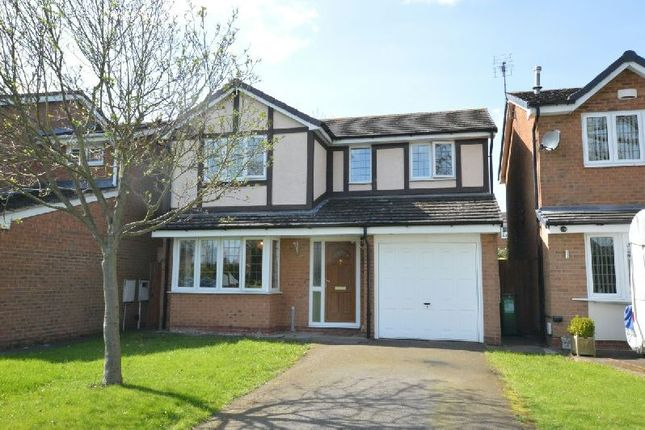 Thumbnail Detached house for sale in Sunbury Rise, Countesthorpe, Leicester