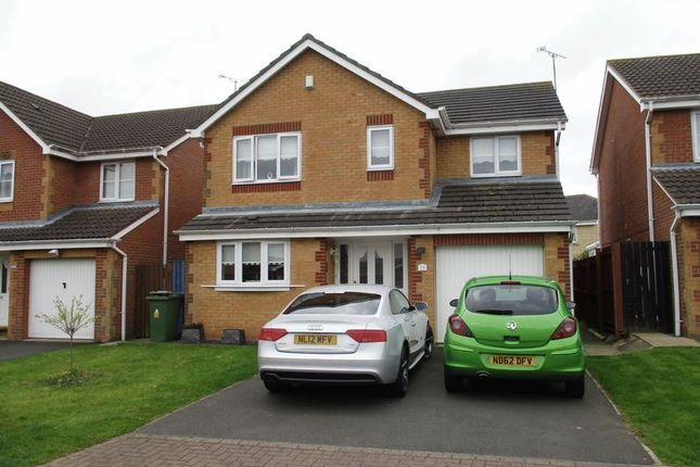Thumbnail Detached house for sale in Beaumont Manor, Chase Farm Drive, Blyth
