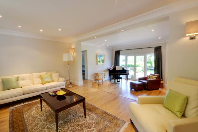 Thumbnail Detached house to rent in Sandy Lodge Road, Moor Park, Hertfordshire
