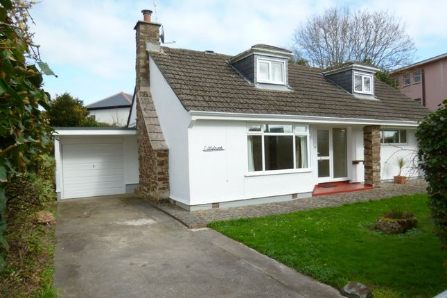 Thumbnail Detached bungalow for sale in Rosevale Estate, Penzance, Cornwall