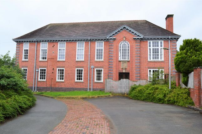 Thumbnail Flat for sale in Jemmett Close, Oswestry