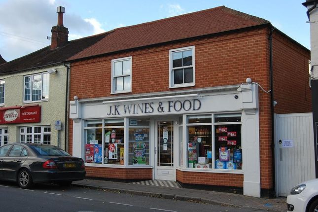 Thumbnail Retail premises for sale in High Street, Bagshot