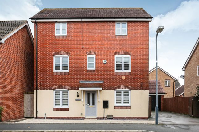 Thumbnail Detached house for sale in Penney Lane, Chase Meadow Square, Warwick