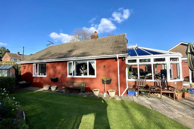 Thumbnail Detached bungalow for sale in Gwentlands Close, Bulwark, Chepstow