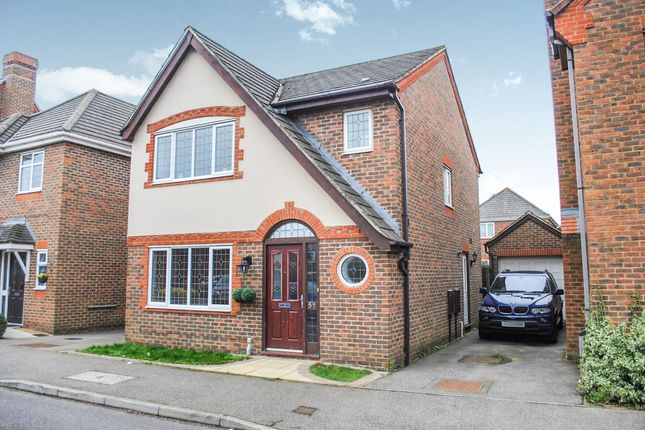 Thumbnail Detached house for sale in Hornbeam Avenue, Bexhill-On-Sea