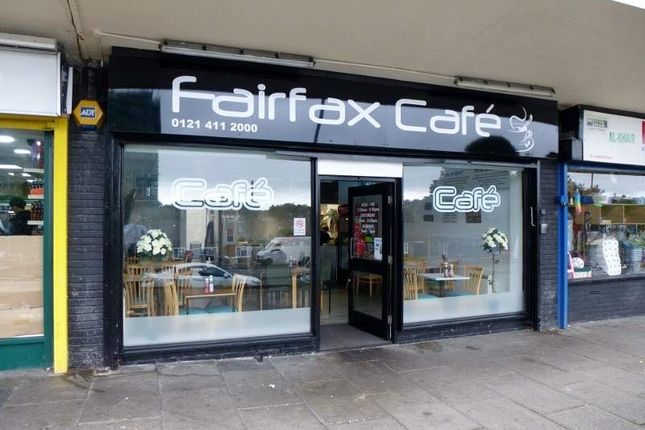 Restaurant/cafe for sale in 133 Fairfax Road, Birmingham