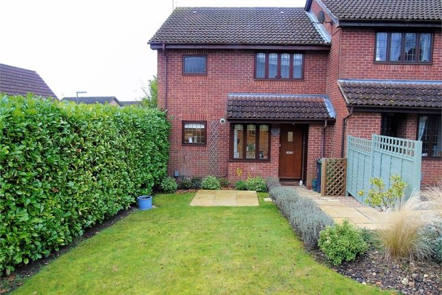 Thumbnail End terrace house for sale in Essex Close, Frimley, Camberley, Surrey