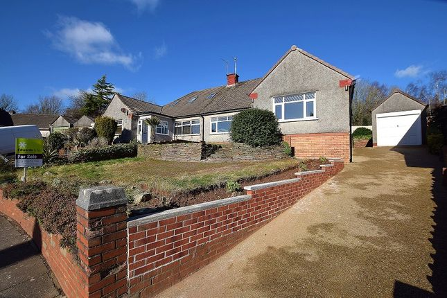 Thumbnail Semi-detached bungalow for sale in Everest Avenue, Llanishen, Cardiff.