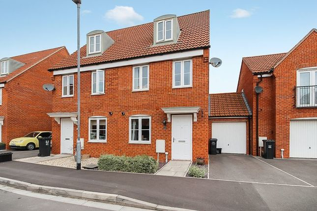 Thumbnail Semi-detached house for sale in Sharpham Road, Glastonbury