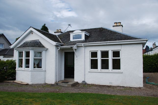 Thumbnail Detached bungalow to rent in Lodge Road, Inverness