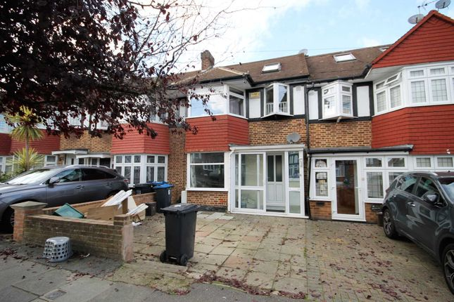 Thumbnail Terraced house to rent in Dudley Drive, Morden