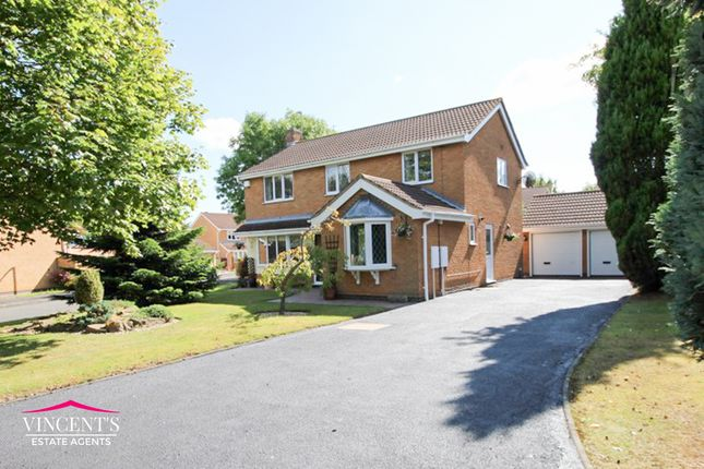 Thumbnail Detached house for sale in Falcon Close, Leicester Forest East